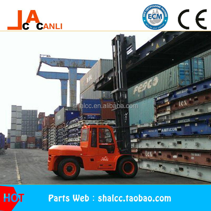 2017year 10.0Ton Automatic Diesel Forklift Trucks container forklift