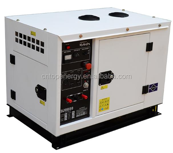 Portable Single Phase Kubota Home Use Silent Type Diesel Generator 7 5kva  Powered By Japan Engine D905 - Buy Home Use Diesel Generator,Kubota