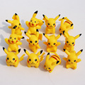 2016 New Arrival 12pcs lot PVC Pokeball Pikachu Action Figure Toy Collector s Edition Model Kids