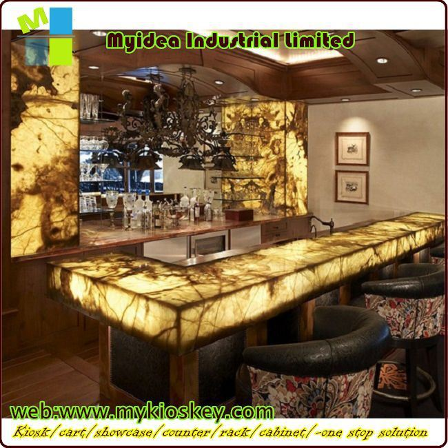 Unique made bar counter for sale reception