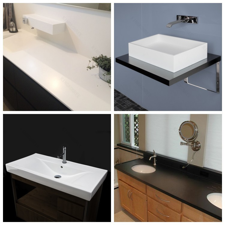 Badezimmer-eitelkeit, moderne badezimmer-eitelkeit, bad waschbeckenunterschrank-Tischplatte ...