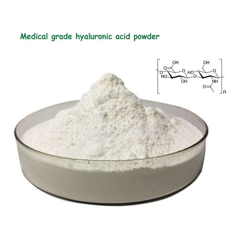 Best selling powder form hyaluronic acid medical grade for injection