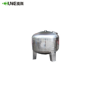 Stainless steel 304 hot water storage pressure tank 100 liter with plant price