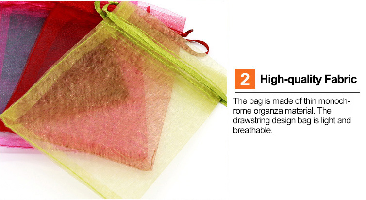17*23cm Organza Pouches with Drawstring Use for Children Baby Shampoo Soap Gifts Packing Bags
