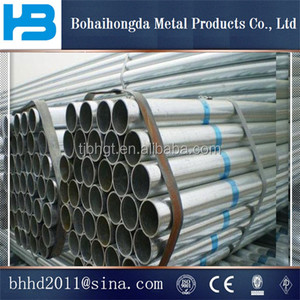 UAE Construction Material STK 400 STK 500 Round Galvanized Steel Pipe With Competitive Price and best quality