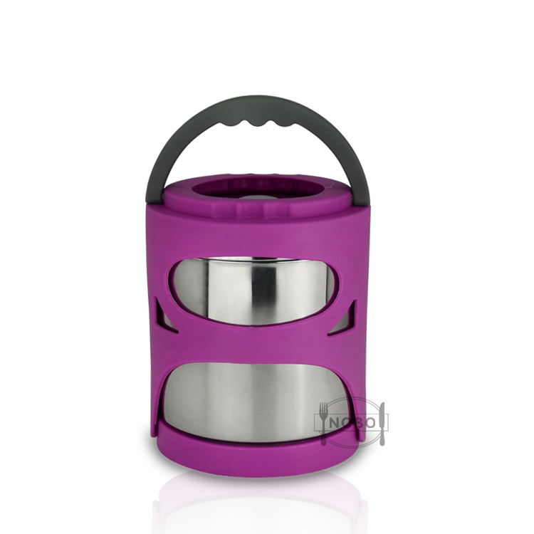 New product color tiffin carier thermal stainless steel lunch box for food