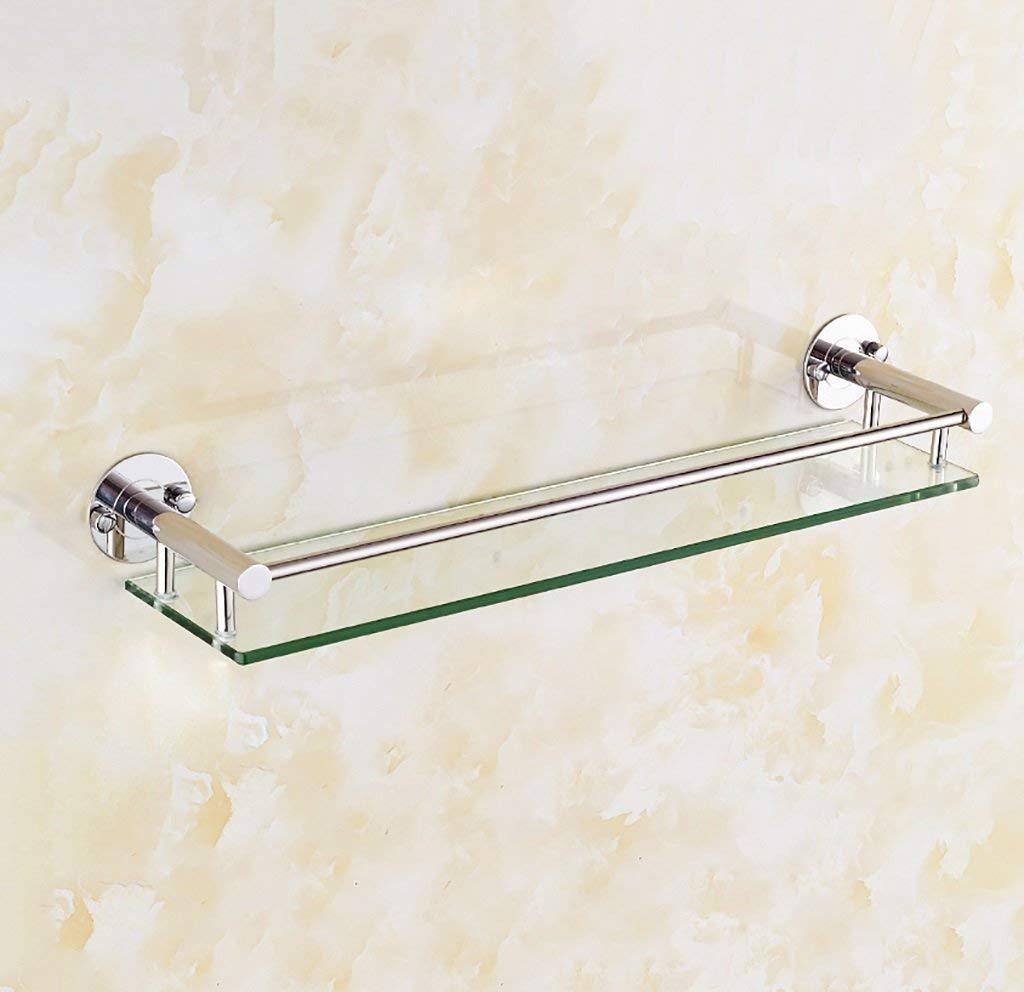 EQEQ On A Shelf Bathroom Glass Shelf Wall, Its Size: 40/50/60 cm (Size: 40 cm).