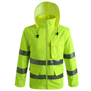 Long Sleeve Safety Workwear Uniform Jackets for Man Reflective Work Clothes