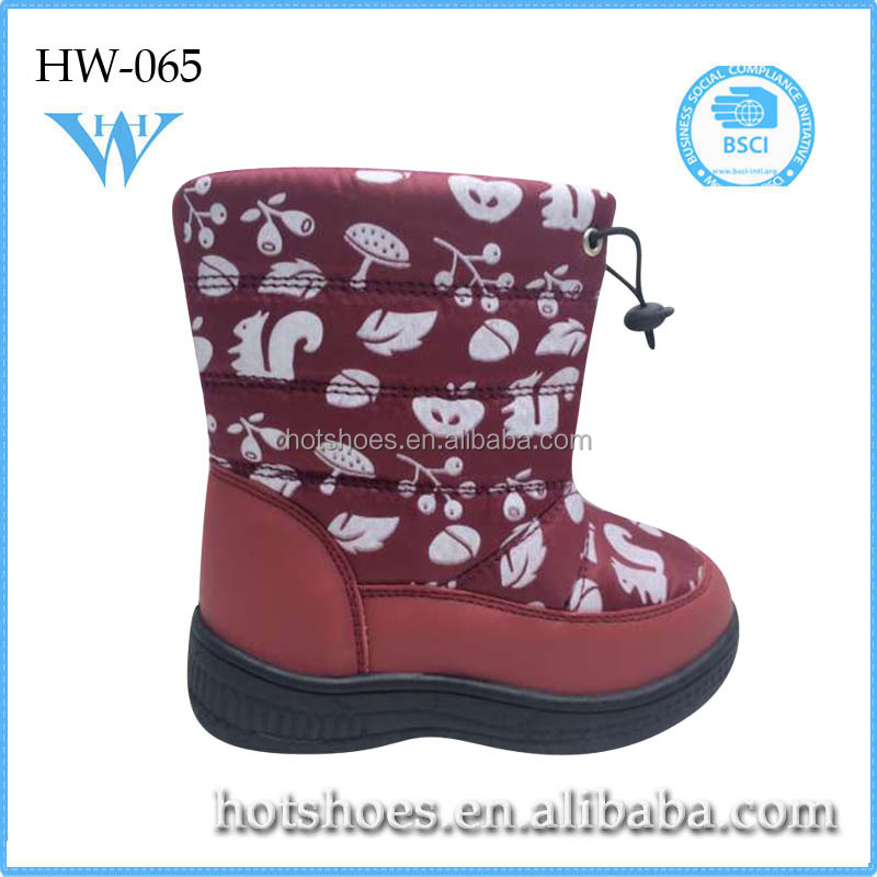 factory wholesale cheap shoes,warm snow wool ski boots in China