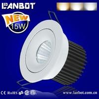 Chip On Board /COB LED ceiling light / led down light 7W, 10W, 15W, 20W,30 (CB certificate)