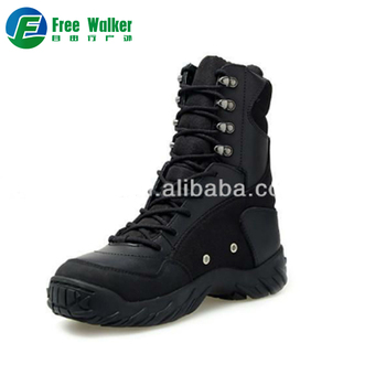 Fast delivery black o-marked bates military shoes tactical boots with vent  hole a15dad6c1