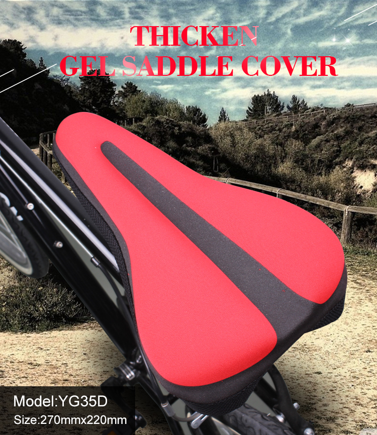 Borita Bicycle Accessories Cheap Price Outdoor Sports Seat Cover Saddle Cover for Bicycle