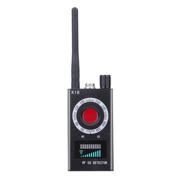 K18 Multi-function  Camera Detector Device GSM Audio Bug Finder GPS Signal Lens RF Tracker Detect Wireless Products