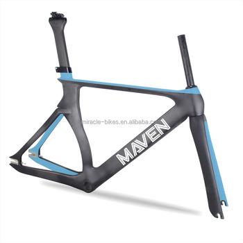 2018 Miracle Wholesale Bike Frames Carbon 700c Track Frame 52/54cm ...