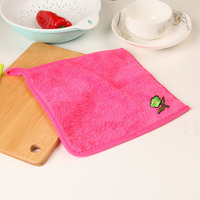 Not To Hurt The Surface Hand Towel Wholesale Microfibre Towel With Embossing Logo