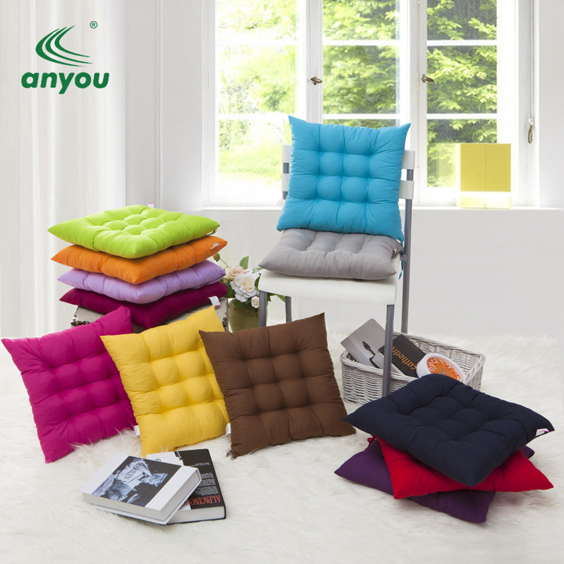 Wholesale  custom more colors square shape soft foam floor seat cushion for home office dormitory sofa chair