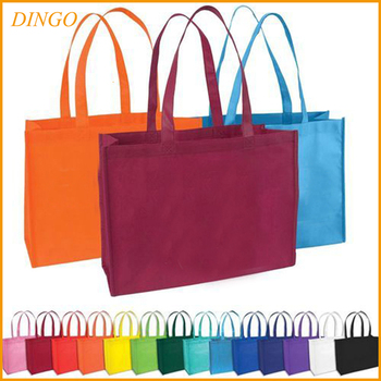 Fashion Recycled Pet Printed Non Woven Bag For Ping Laminated Polypropylene Tote