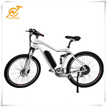 Hot Aluminimum Alloy frame mountain bikes electric moped with pedals with lithium battery