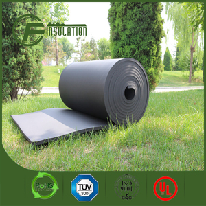 Wholesale foam rubber with 25mm thickness /foam rubber insulation for air conditioning and HVAC