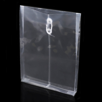 China wholesale plastic waterproof custom size clear document holder/ file pocket
