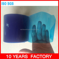 Wanfa UV blue masking pe protective film for window glass surface film tape