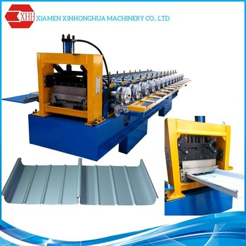 Standing Seam Metal Roof Machines with Straight and Tapered Sheet
