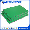 Megabond acp aluminum composite green light weight interior wall panel