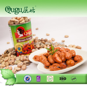 Chinese food stuff high quality 400g canned broad beans