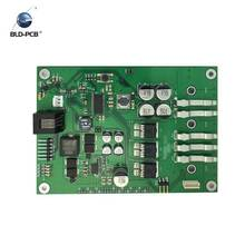 Assembled Printed Circuit Board (PCB) with electronic components