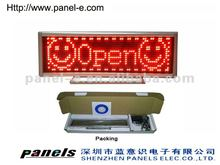 (Direct Manufacturer) Usb rechargeable led display board price tag,led billboards ,led table reservation board