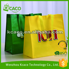 PP printed folding eco foldable shopping non woven tote bag