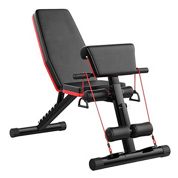 Stable Quality Fitness Equipment Parts Adjustable Reverse Sit Up Bench