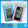 2015 phone swimming pvc waterproof bag for iphone 5s/5c