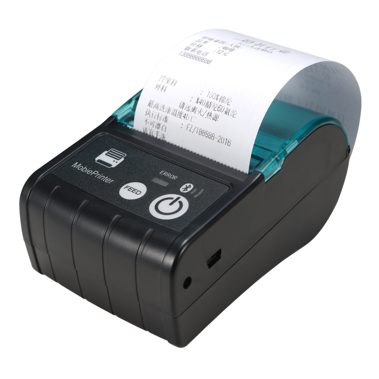 Bluetooth draadloze pos printer Leverancier 58mm pos Android Thermische Printer pos printer drivers