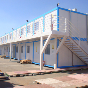 20ft/40ft durable prefabricated container home office container cabin 40ft flat-pack labor camp prefab container
