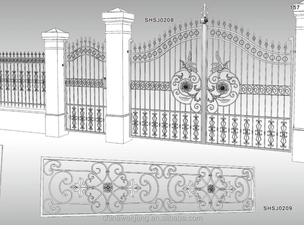 Professional design of school gate buy design of school for Latest main gate designs