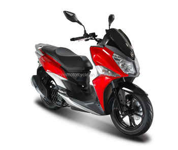 Sym Jet 14 125cc Sport Liquid Cool System 2017 New Gas Scooter Efi City  Motorcycle Eec Euro 4 - Buy New Motorcycle,City Model,Gas Scooter Product  on