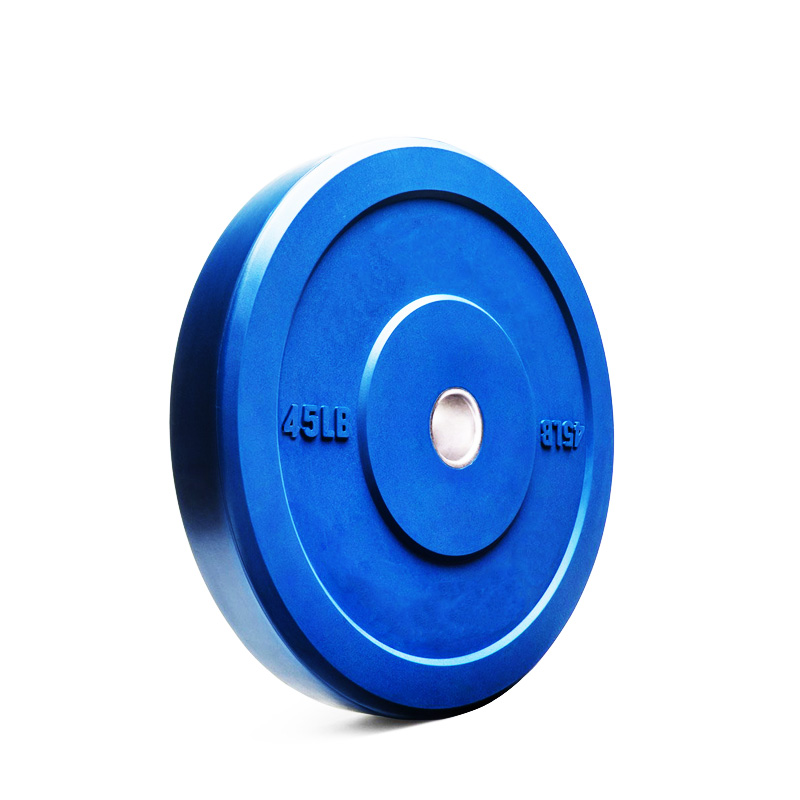 25KG Red Rubber Bumper Weight Plates