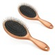 Manufacturer Custom Soft Long Bristles Plastic Wet Hair Brush