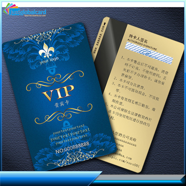 CR80 credit card Size Plastic VIP Card, Loyalty Card