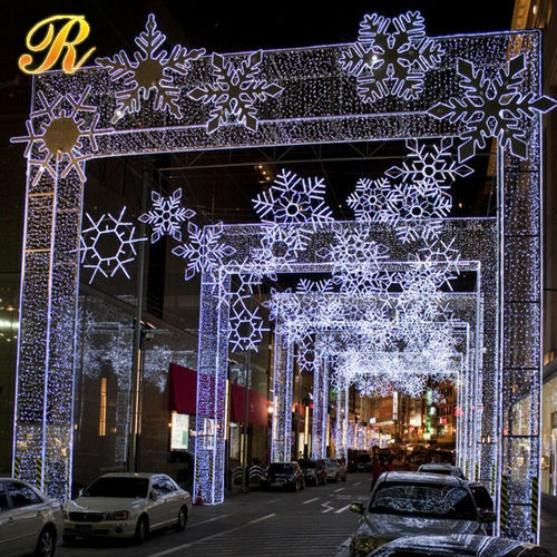 2016 Extravagant led wedding aisle arch light decorations