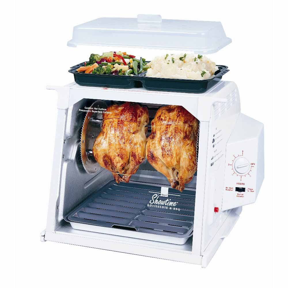 Ronco Compact Showtime Rotisserie Jr 2500 or 3000 Instructions Recipe Booklet