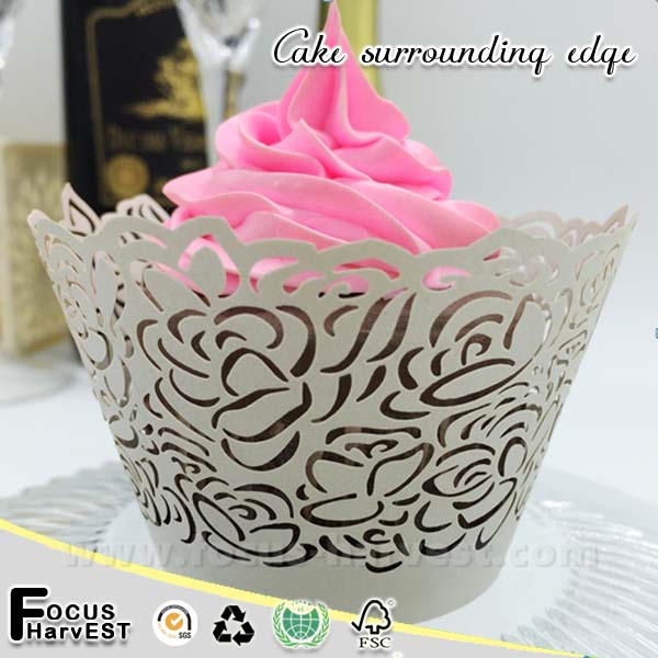 A118 2015 Laser cupcake wrappers Plain Mint Sunflower muffin cup cupcake wrapper decoration