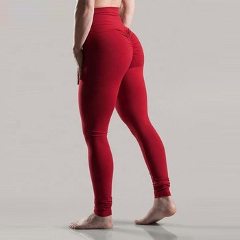 Wholesale Fitness Clothing Womens Butt Lift Yoga Pants High Waisted  Compression Tights Custom Scrunch Butt Leggings 45c733dc92
