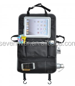 Multi car seat organizer bag for wholesale/Ipad organizer bag