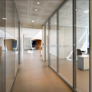 Aluminium Frame Glass WallPhoto Panel Room Divider plexiglass Room