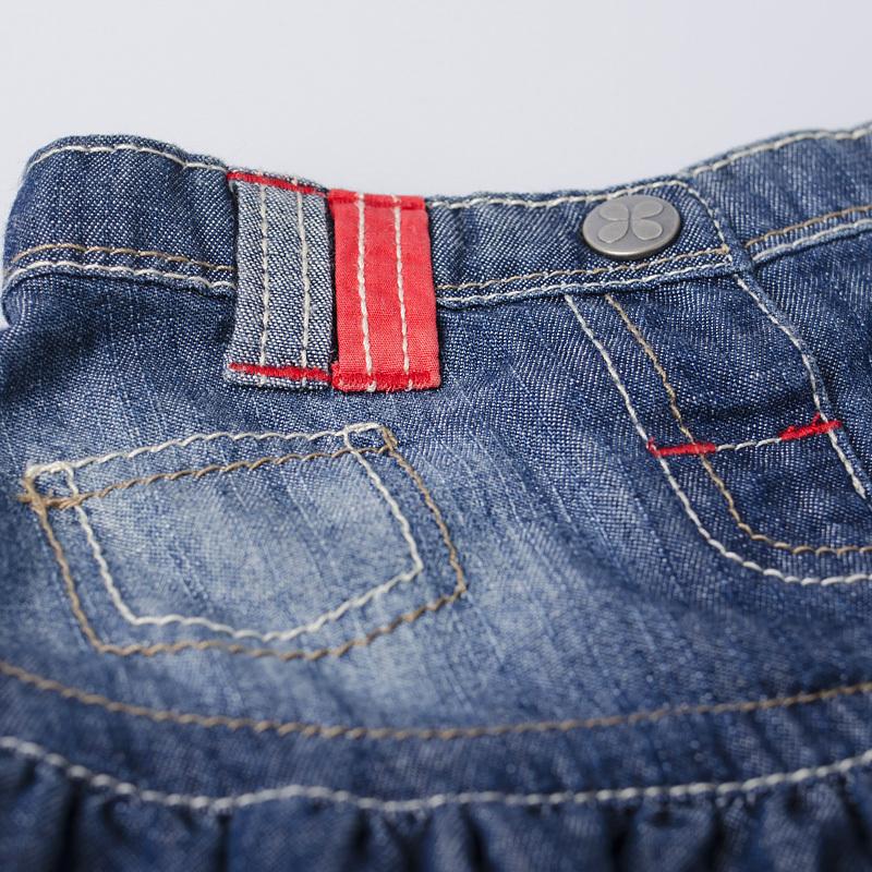 1d6b170585cc Baby Girls Infant Toddler 100% Cotton Summer Denim Skirts Lovely ...
