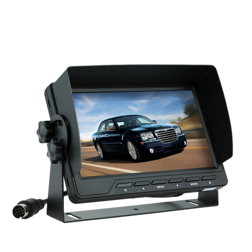 7 Polegada Retrovisor Do Carro Monitor de Ahd