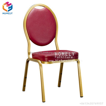 hotel gold metal africa banquet chair in morocco