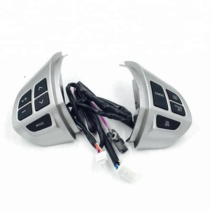 Factory direct sell Mitsubishi lancer Outlander Asx steering wheel music controls
